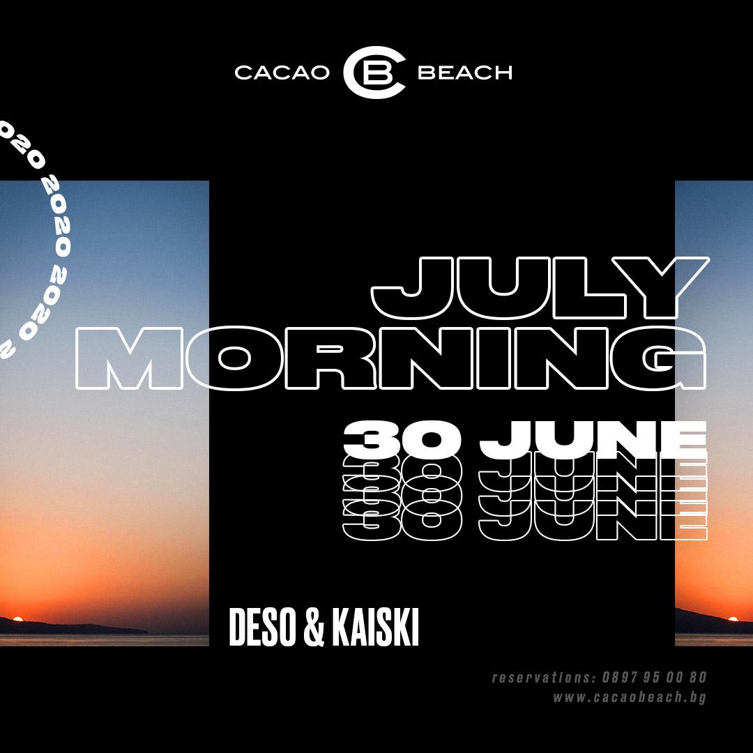 July Morning 2020: