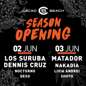 Cacao Beach Opening 2017