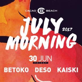 July Morning 2017