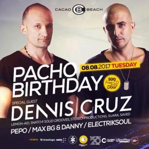 Pacho Birthday, Dennis Cruz