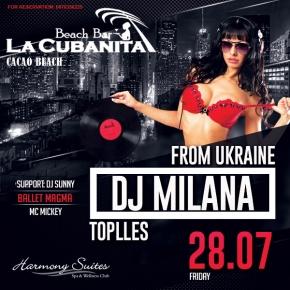 DJ Milana,
